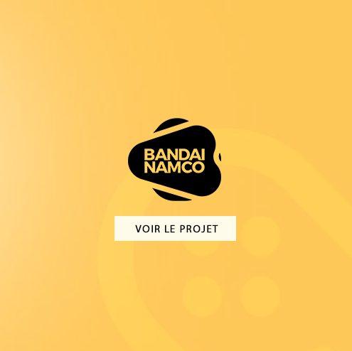 Création d'emailing pour Bandai Namco