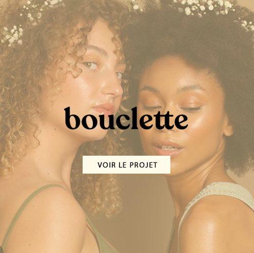 Création d'emailing pour Bouclette