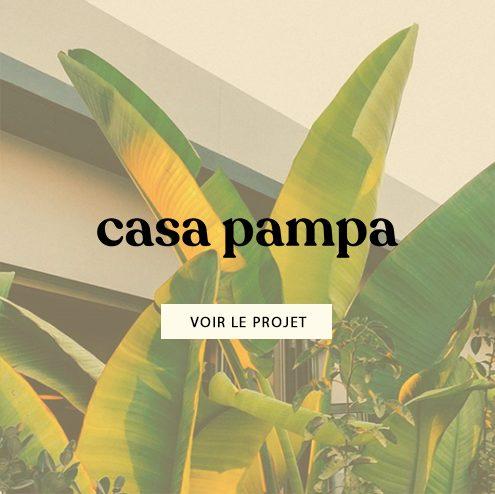 Création de l'identité de marque Casa pampa