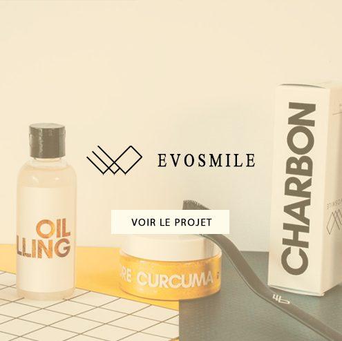 Création d'emailing pour Evosmile