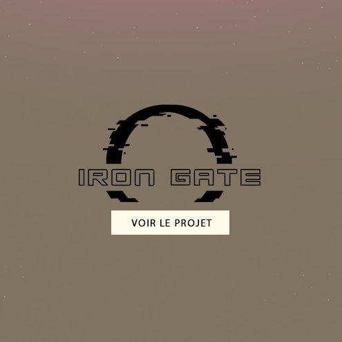 Création de l'identité de Marque Iron Gate