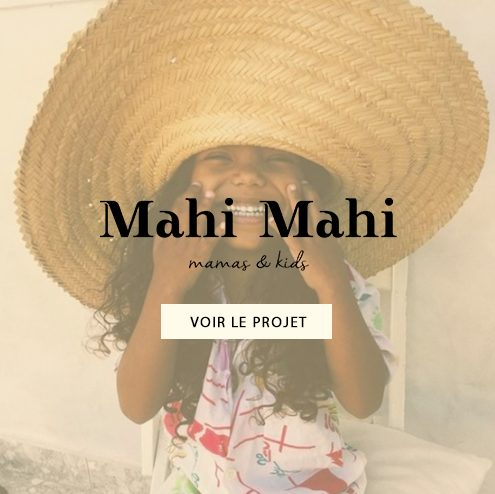 Création de l'identité de marque Mahi Mahi