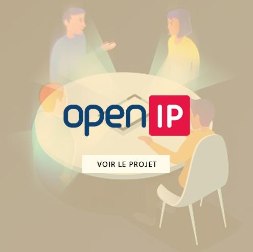 Création d'emailing pour Open IP