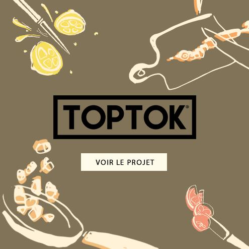 Création d'un catalogue pour TOPTOK