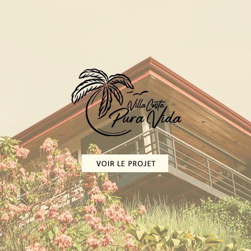 Création de l'identité de Marque Villa Costa Pura Vida